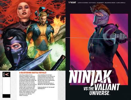 Ninjak vs. the Valiant Universe (2018)