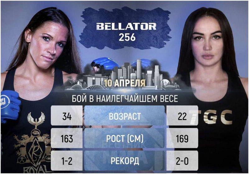Красавица от Русия дебютира в Bellator през април