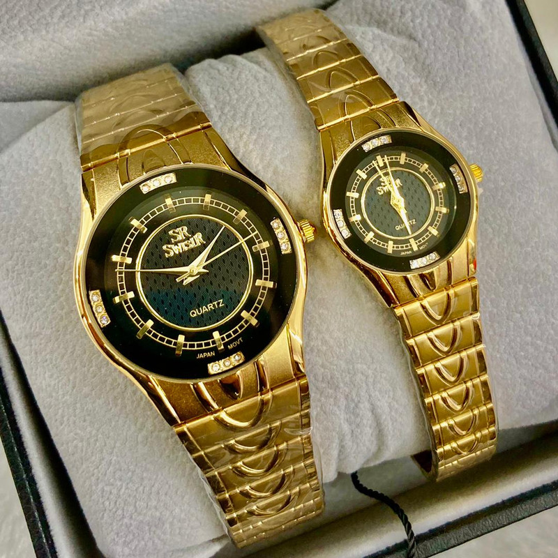 Special promotion on sw swisir couples watches for sweet couples Malaysia