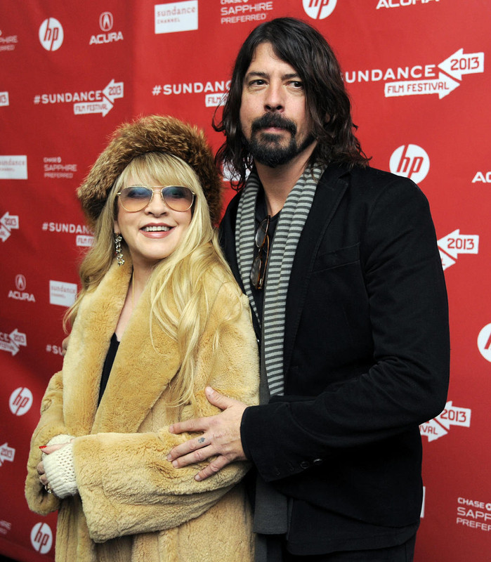 Stevie Nicks with her husband