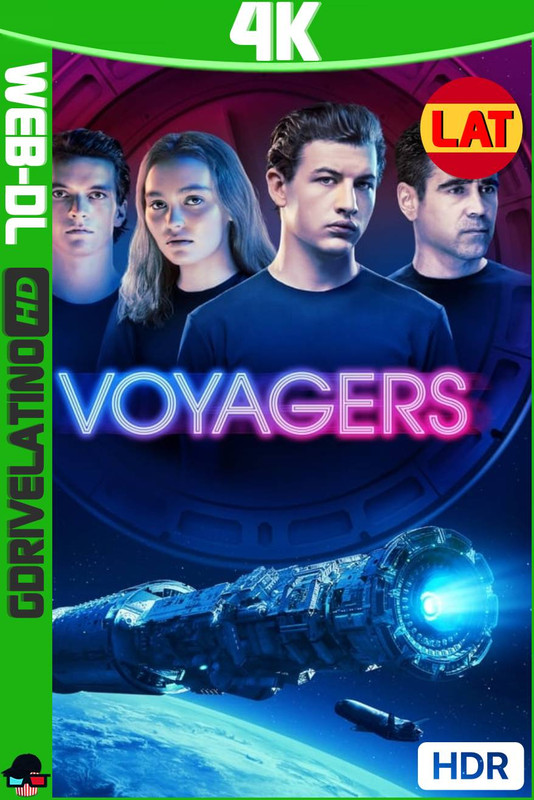 Voyagers (2021) AMZN WEB-DL 4K HDR10 Latino-Ingles MKV