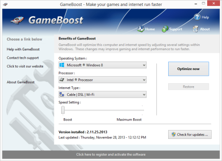 PGWare GameBoost 3.2.17.2020 Multilingual