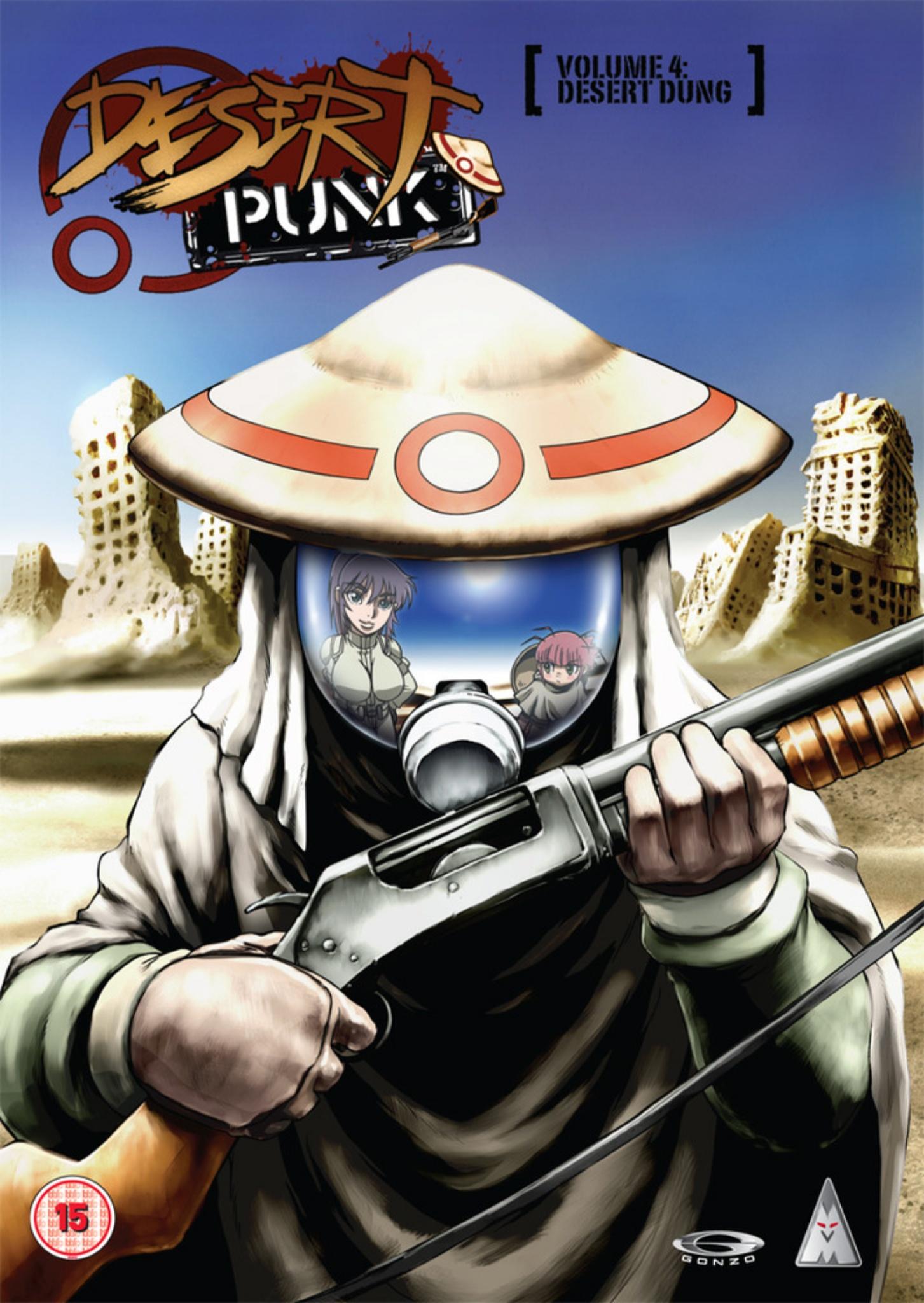Desert Punk | DVDrip | Cast/Jap | 10/24 | MKV-960p | x264 Desert-Punk