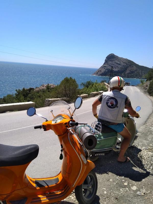 Vespa - мечта практичного мотоциклиста со вкусом!