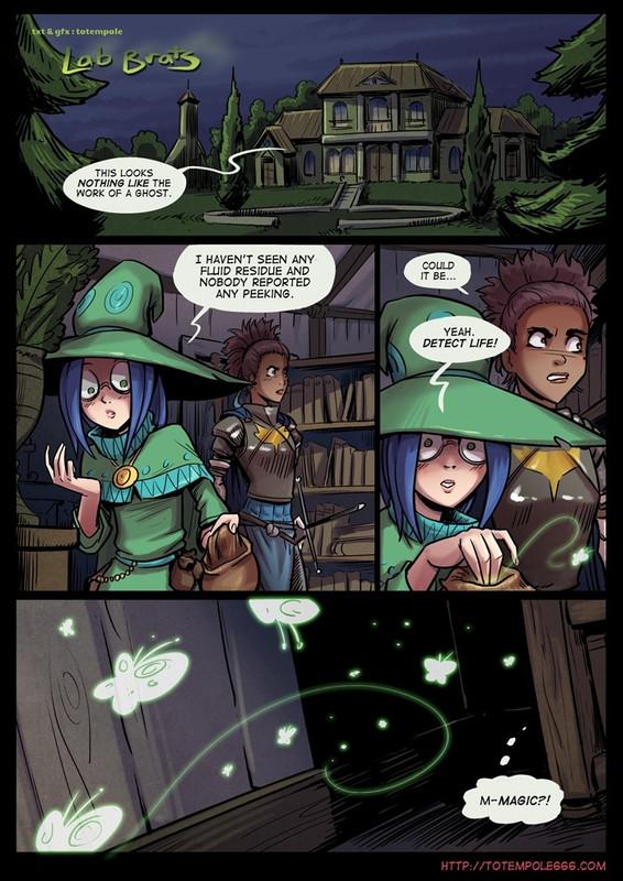 Lab Brats – The cummoner 18 Adult Comics