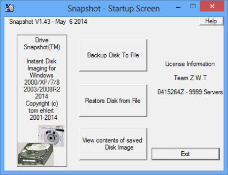 Drive SnapShot 1.48.0.18856