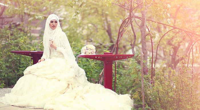 Мусульманские свадебные платья. Модели, фасоны, какое лучше купить