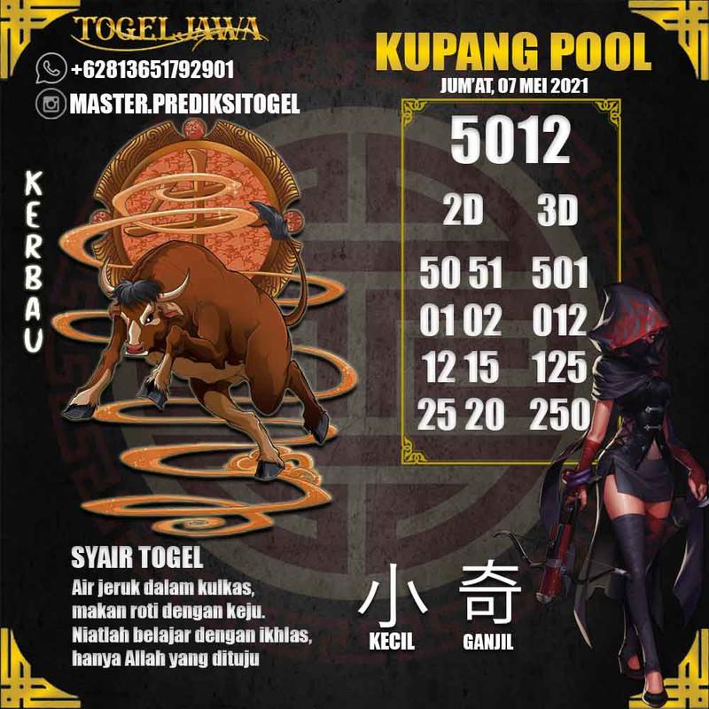 Prediksi KupangPool Tanggal 2021-05-07
