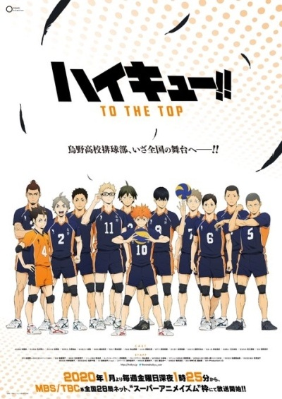 Haikyuu!!: To the Top - Portada