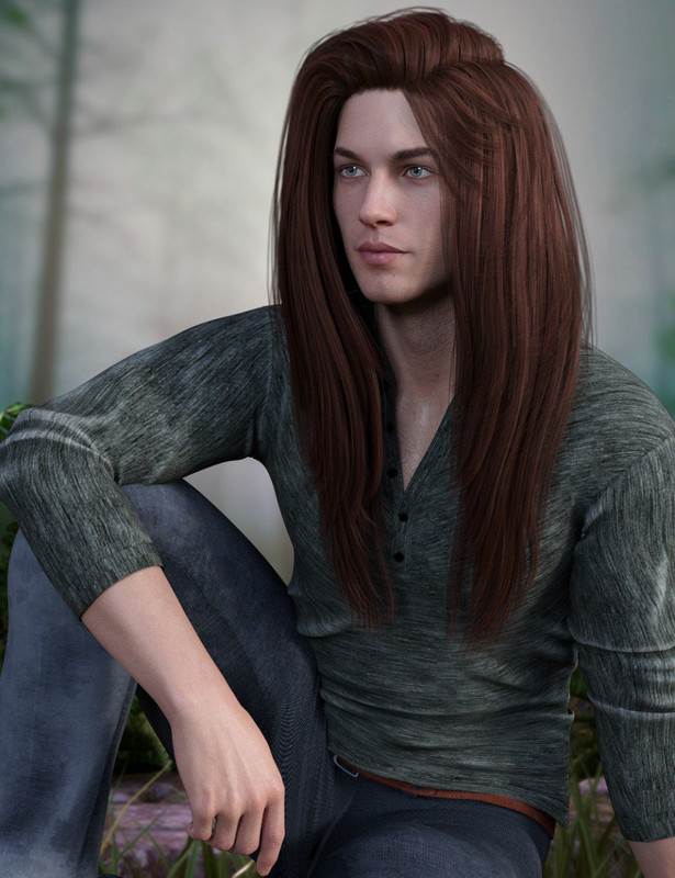 Archippos Hair Genesis 8 Male(s)