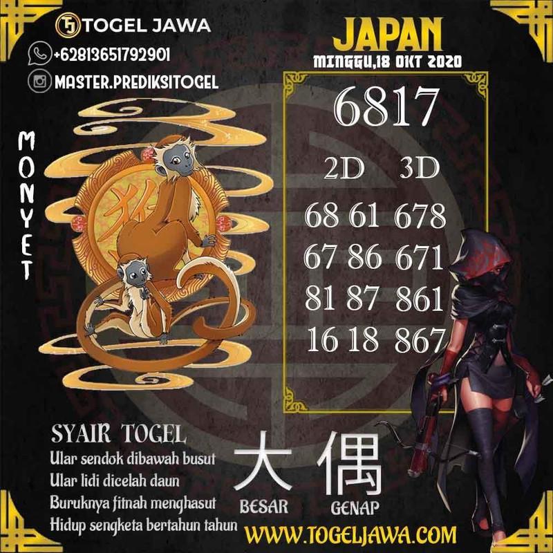Prediksi Japan Tanggal 2020-10-18