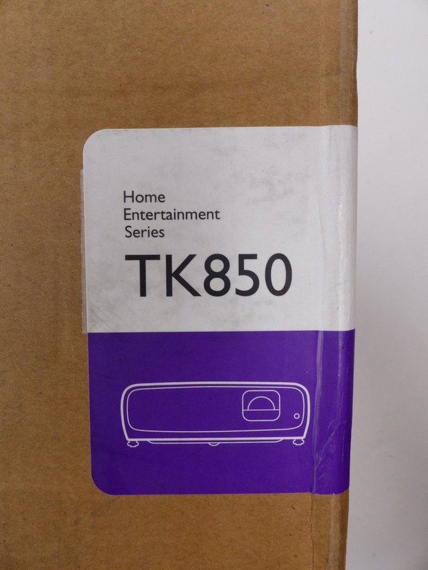BENQ TK850 HOME ENTERTAINMENT PROJECTOR