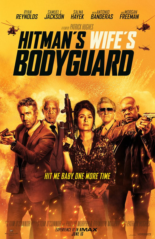 The Hitmans Wifes Bodyguard (2021)