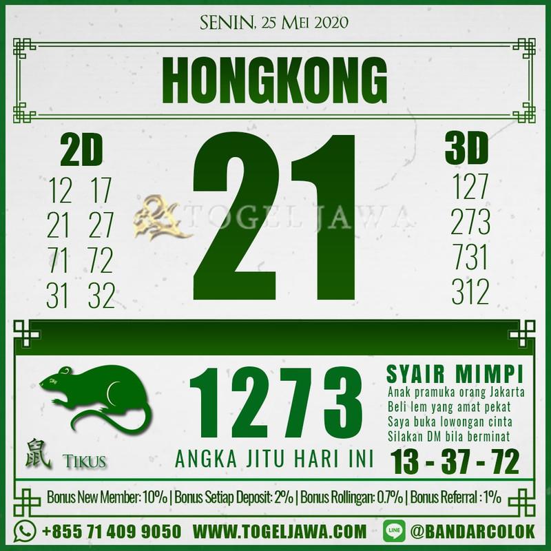 Prediksi Hongkong Tanggal 2020-05-25