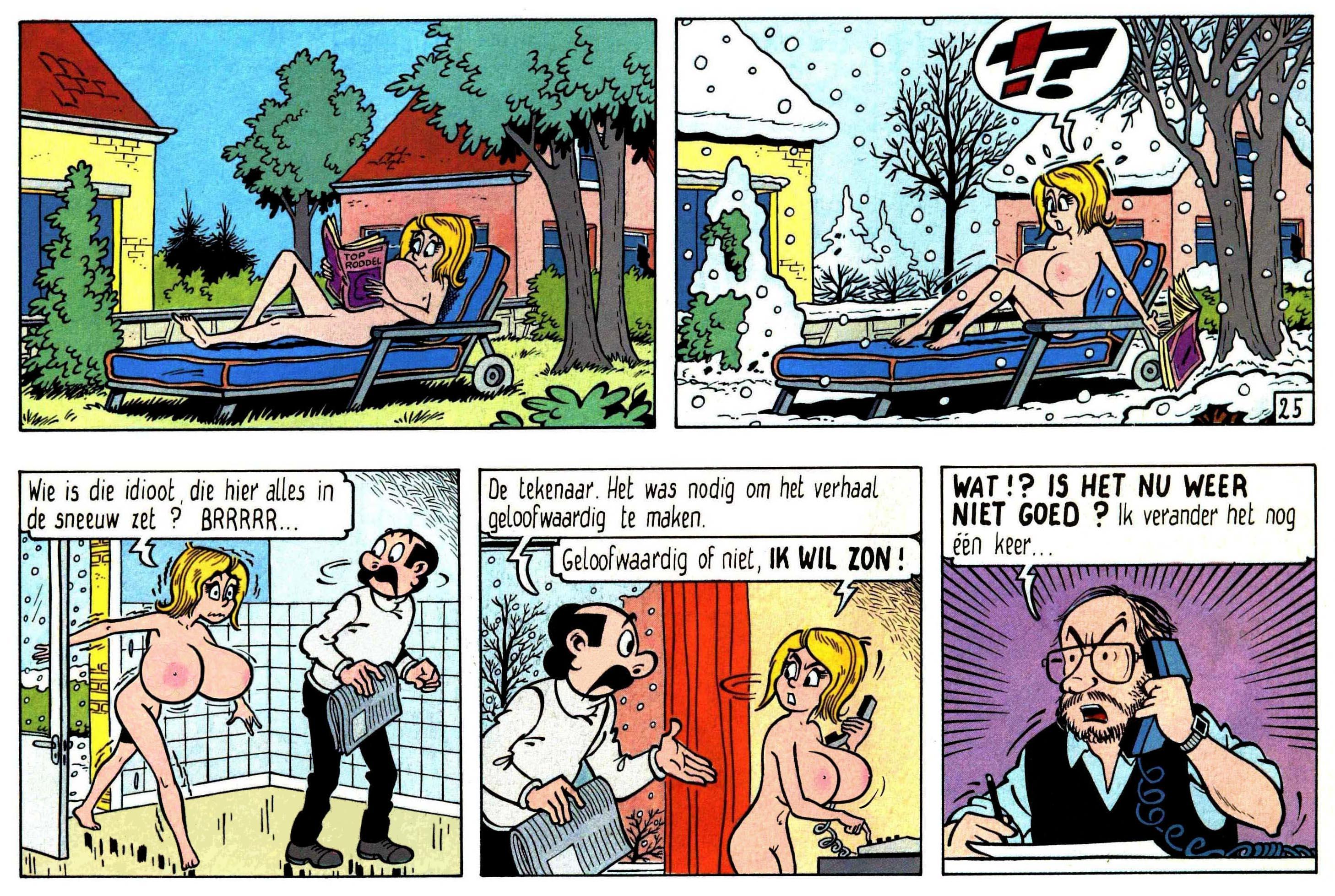 Kiekeboe - Album 26 (Het tepeltafereel) - Nasty Comics