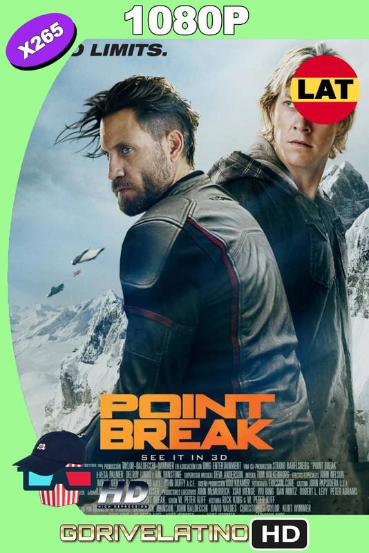 Point Break LAT (2015) BDRip H265 10Bits MKV