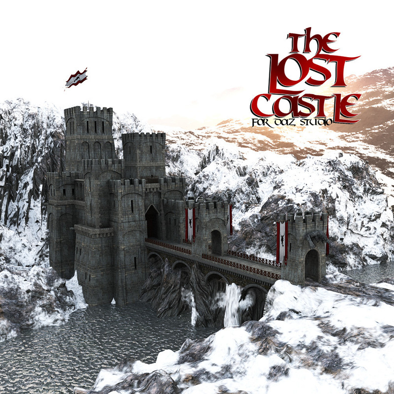 The Lost Castle for DS Iray