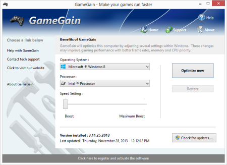 PGWare GameGain 4.2.17.2020 Multilingual