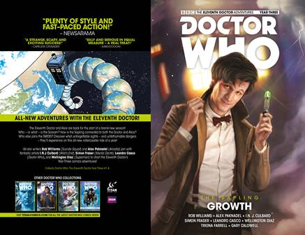 Doctor Who - The Eleventh Doctor - The Sapling v01 - Growth (2017)