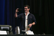 Adam Baldwin, Summer Glau, and Sean Maher speak on the Firefly spotlight panel at Dragon Con 2016