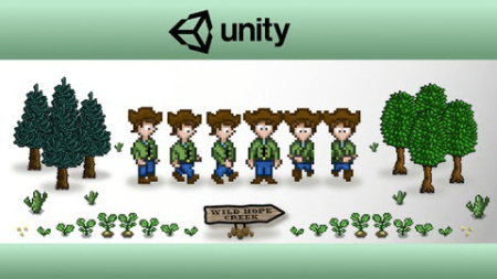 Unity 2D Game Developer Course Farming RPG (updated 06.2021)