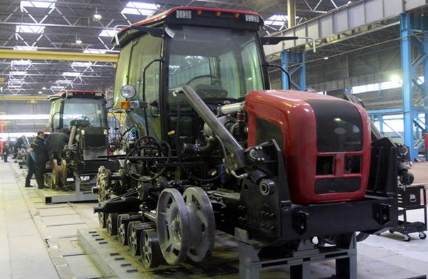 Tractores para Nigeria Trac-cadena