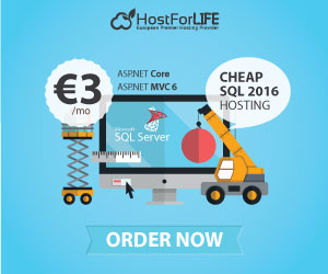 HostForLIFE.eu - European Windows & ASP.NET Hosting