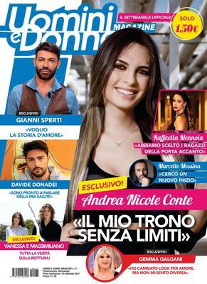 Uomini e Donne Magazine N.27 – 24 Settembre 2021