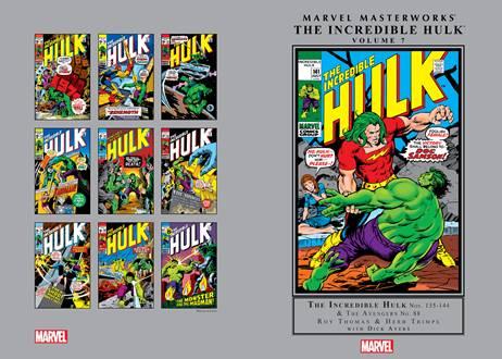 Marvel Masterworks - The Incredible Hulk v07 (2013)