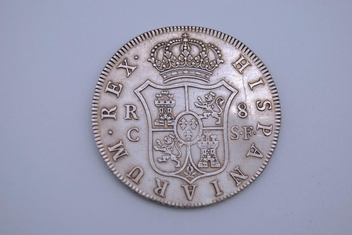 8 Reales 1809. Fernando VII. Reus. SF 8-R-1809-REUS-B