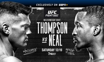 Watch UFC Fight Night Thompson vs Neal