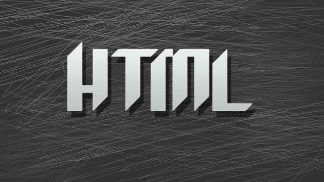 HTML The first step for absolute beginners
