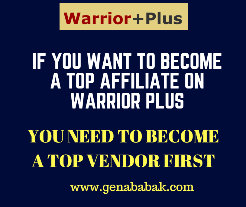 HOW TO BECOME A FULL TIME ONLINE MARKETER USING WARRIOR PLUS