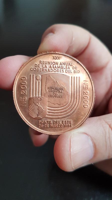 Uruguay •1984• Nuevos Pesos 2.000 •ENSAYO• 20191022-130828
