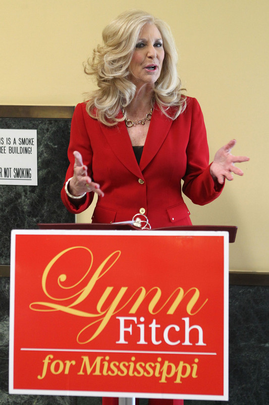 Lynn Fitch during her campaign trail