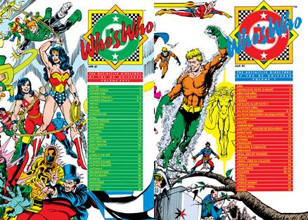 Who's Who - The Definitive Directory of the DC Universe #1-26 (1985-1987) Complete