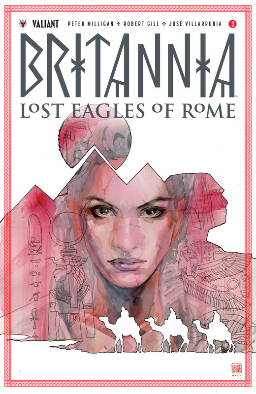 Britannia - Lost Eagles of Rome #1-4 (2018) Complete